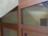 Detalle remate superior escalera