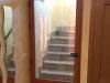 Puerta escalera aluminio