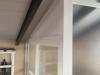 Detalle remate techo blanco