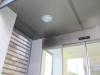 Falso techo aluminio inox