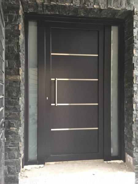 Puertas de calle pvc mavero s l carpinter a y for Modelos puertas metalicas para casas