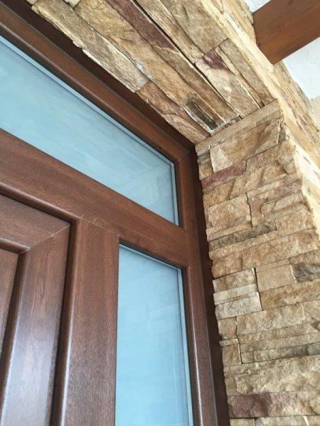 Puertas exteriores de pvc puerta rustica aragon ventana - Puertas de exterior de pvc ...