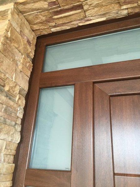 Puertas de calle pvc mavero s l carpinter a y - Puertas de entrada de pvc precios ...