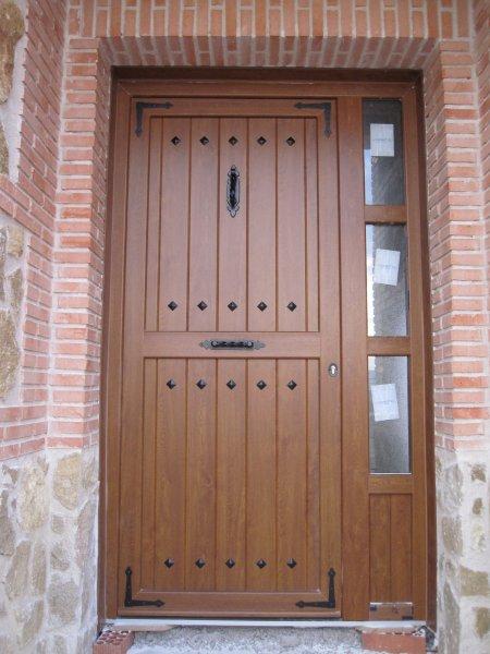 Puertas de calle pvc mavero s l carpinter a y - Puertas acristaladas exterior ...
