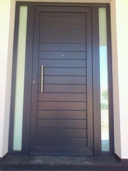 Puertas de aluminio baratas elegant aleacin de aluminio - Puertas baratas exterior ...