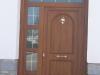Puerta de calle PVC imitación madera panel CINOSURA