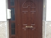 Puerta de pvc Nogal panel IP 4