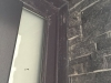 Remate puerta de calle de PVC gris antracita modelo avia