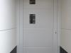 Puerta de calle de pvc blanca panel IP7 2V 3 Line