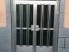 Puerta de calle aluminio antes de instalación
