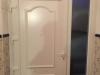 Puerta de calle de PVC blanca modelo Pleyades