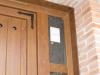 Detalle puerta de calle pvc panel ip3