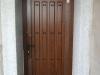 Puerta de calle PVC imitación madera panel ANTIGA BASICA 3