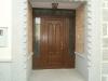 Puerta de calle PVC imitación madera panel ARGOS Y EMPLOMADOS EXTERIOR