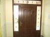 Puerta de calle PVC imitación madera panel ARGOS Y EMPLOMADOS