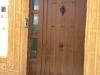 Puerta de calle PVC imitación madera Antiga Básica 3