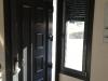 Puerta de calle PVC foliado gris antracita Lira interior
