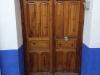 Puerta de madera anterior a instalación sin obra de puerta IP5