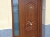 Puerta de calle PVC imitación madera panel IP4