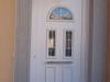 Puerta de calle PVC blanca panel  ALTAR
