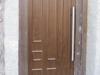 Puerta de calle PVC imitación madera panel IP10