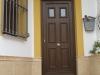 Puerta de calle PVC imitación madera panel NORTE
