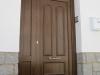 Puerta de calle PVC imitación madera panel ARGOS