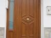Puerta de calle PVC imitación madera panel ATLANTIDAS
