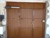 Puerta Abatible de PVC Roble dorado
