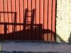Hueco antes instalación puerta antipánico 2 hojas