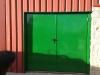 Puerta antipánico 2 hojas vista exterior