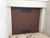 Puerta metálica chapa imitación madera