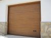Seccional instalada sobre puerta de muelles