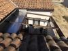 Techo móvil vista superior abierto color madera nogal