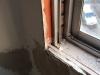 Hueco de ventana antes de instalar