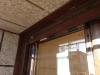 Remate ventana de pvc nogal