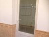 Puerta de PVC blanco
