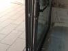 Puerta paralela gris antracita