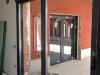 Puerta paralela gris antracita interior