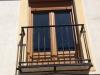 Balcón roble irlandés detalle exterior