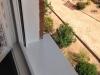 Ventana de PVC Blanco Zendow Neo remate piedra