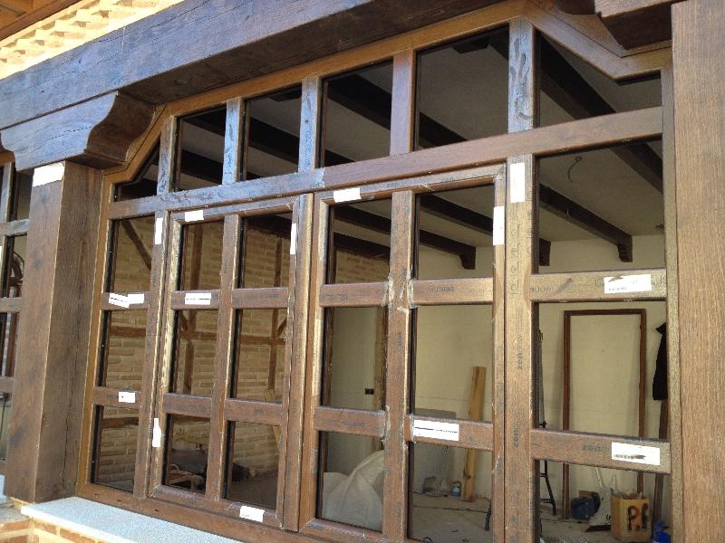 Ventanas rusticas mavero s l carpinter a y ventanas for Ventanas de madera rusticas precio