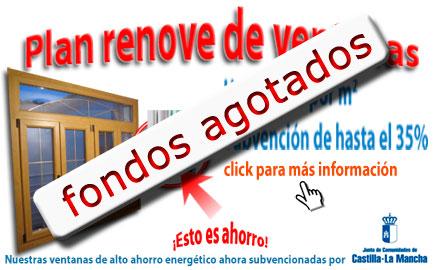 Plan renove de ventanas para Castilla la Mancha