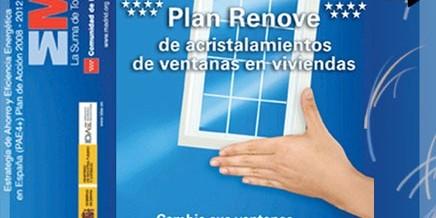 Plan renove de ventanas Madrid 2012