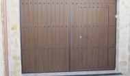 Puertas metálicas de PVC