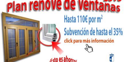 Plan Renove de ventanas para 2013 en Castilla – La Mancha