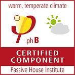 1617 DECEUNINCK - Logo Componente Certificado PassivHaus phB