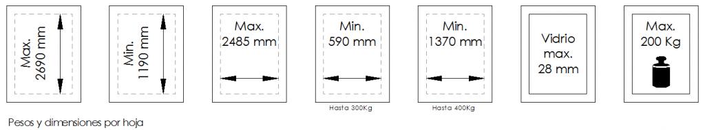 Magnum200-Dimensiones