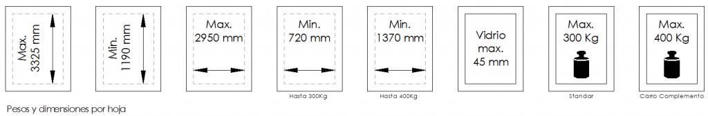 Magnum400-Dimensiones